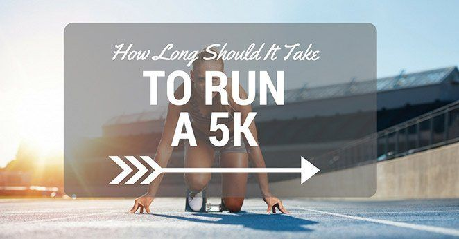 how long should it take to run a 5k