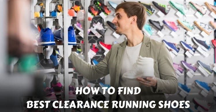 clearance running shoes
