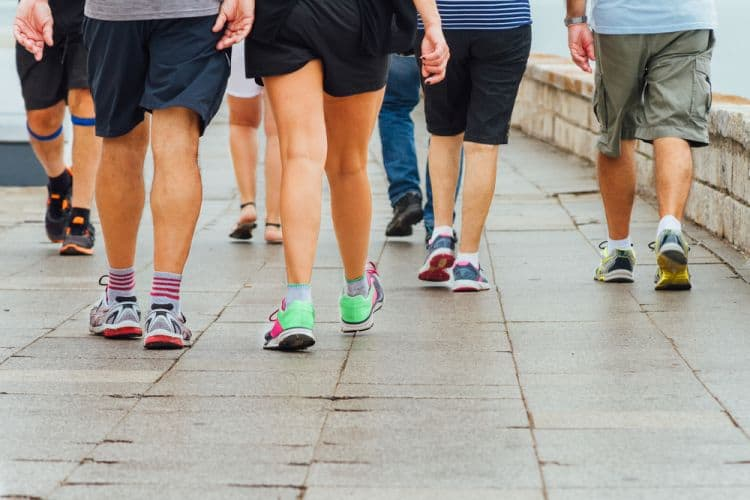 How many calories does walking burn