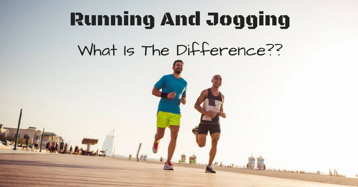 difference between running and jogging