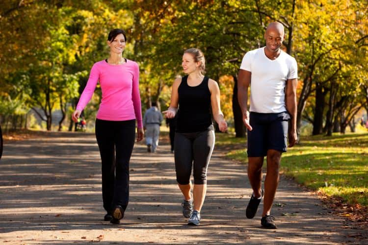 Walking prevents cardiovascular diseases