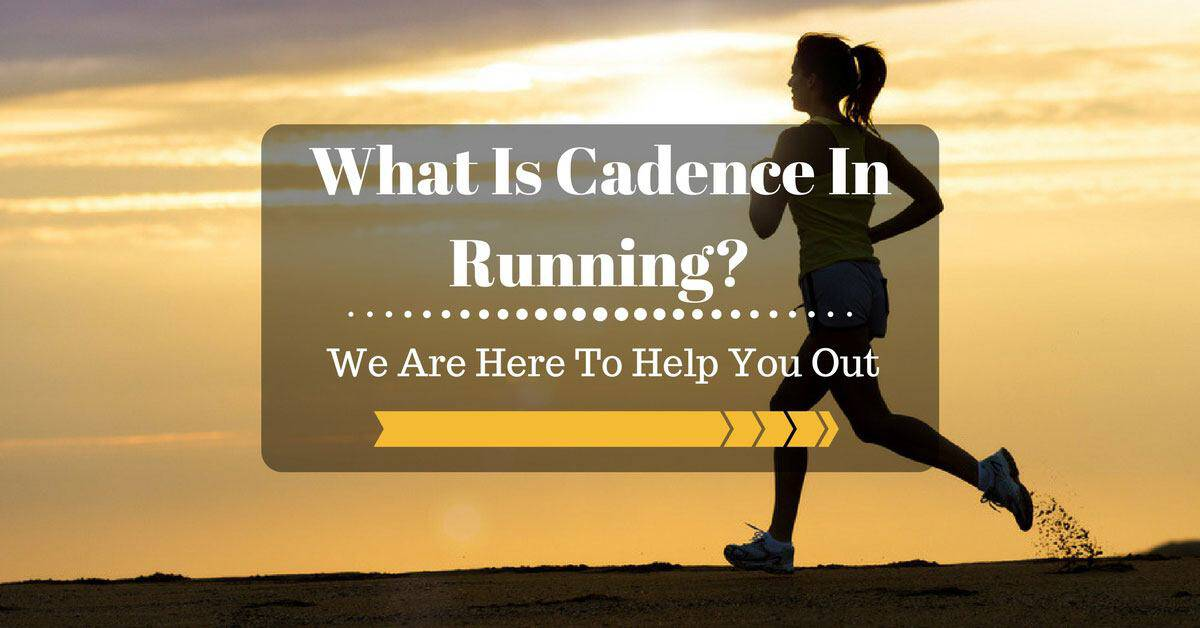 what is cadence in running