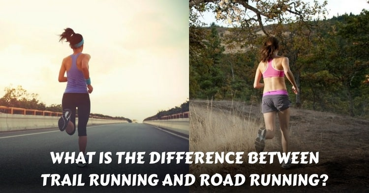 trail running vs road running
