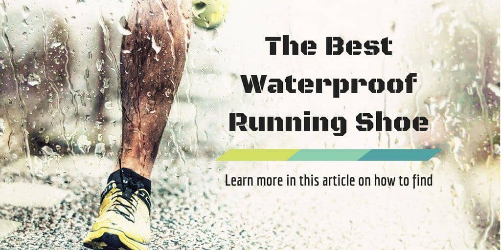 best waterproof running shoe