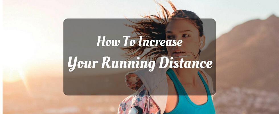 increasing running distance