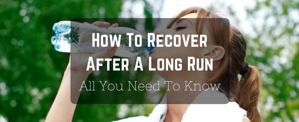 how to recover after a long run