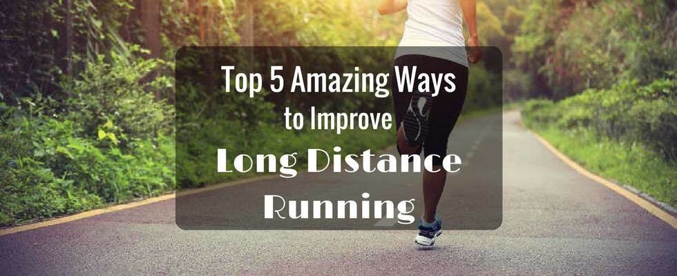long distance running technique