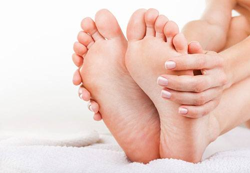 Keep your feet clean
