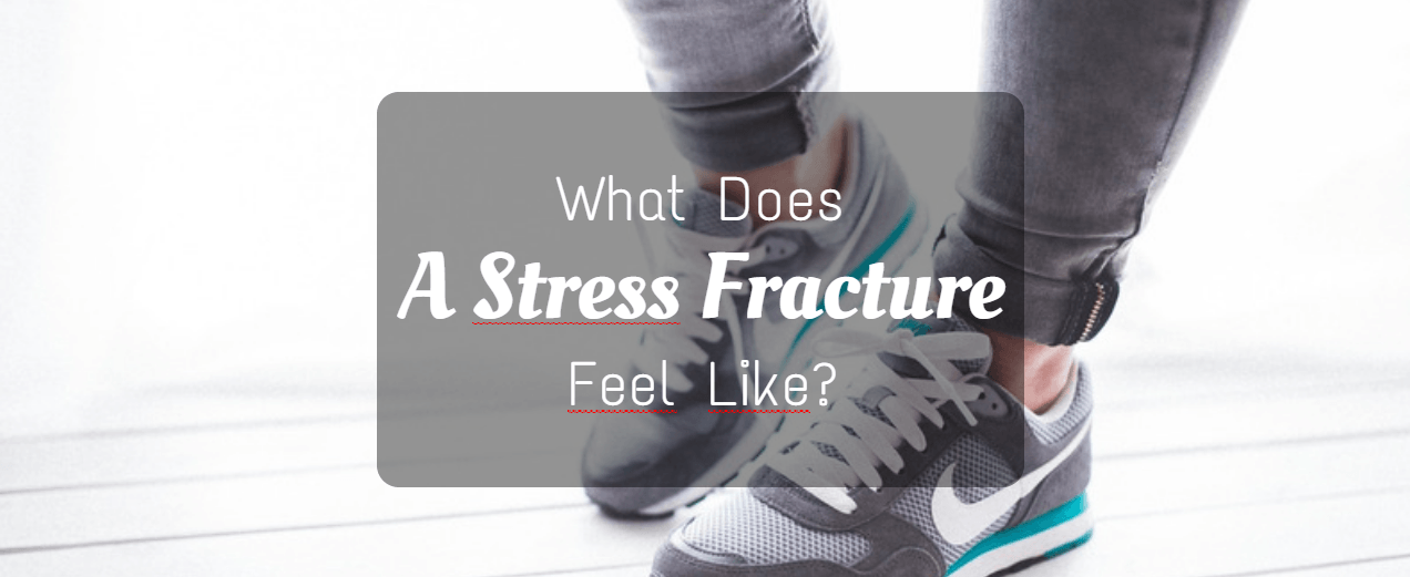 what does a stress fracture feel like