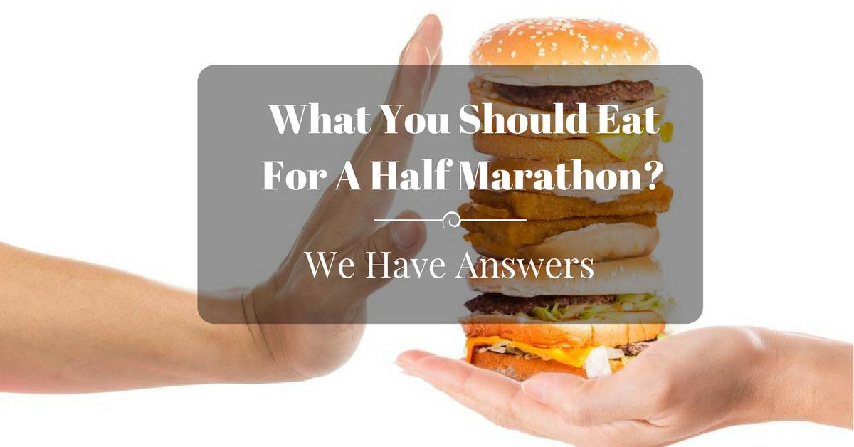 what to eat while training for a half marathon