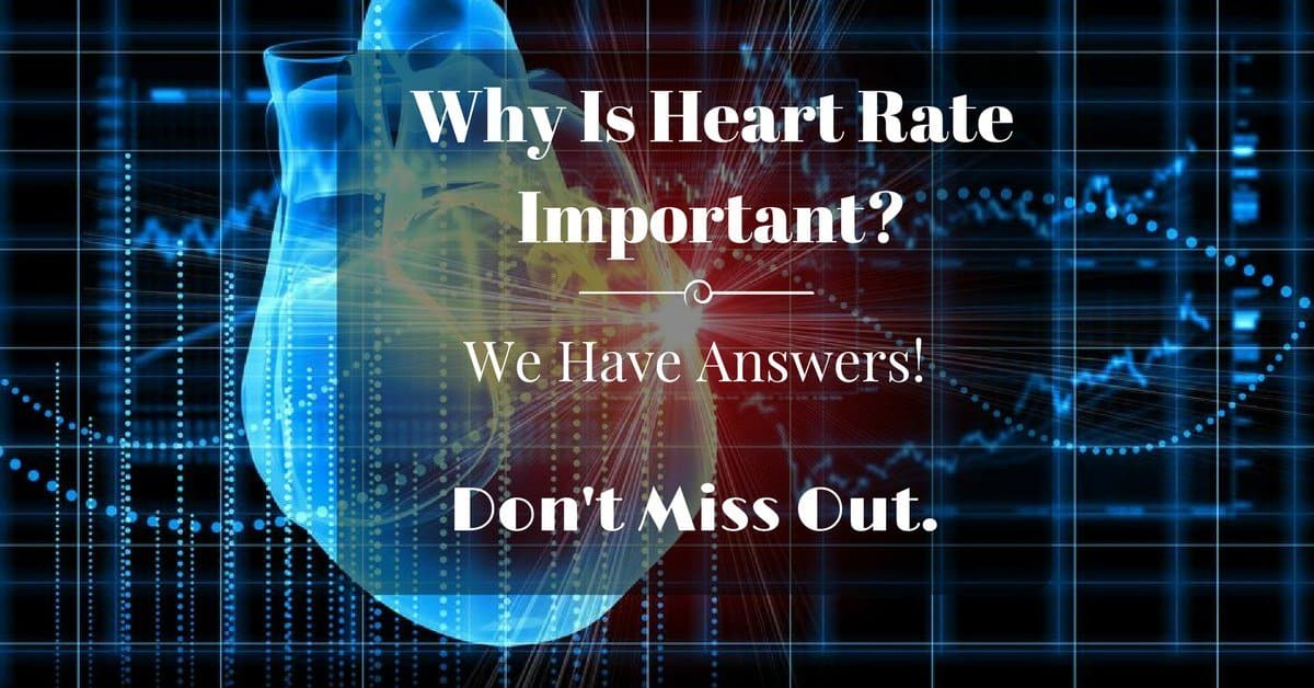why is heart rate important